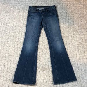 Citizens of Humanity low waist flare